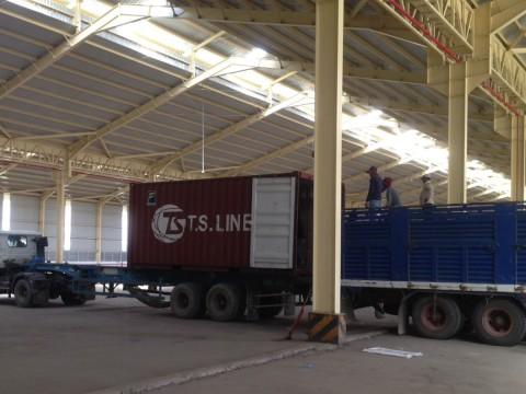 Warehouse Cargo Handling (rice export)