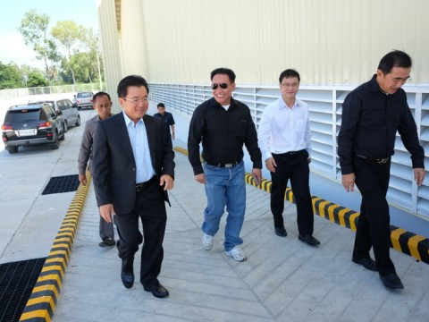 General Director of Customs and Excise Visit Our Dry Port